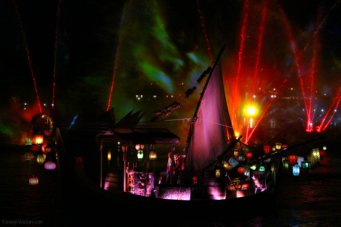 Rivers of light fun facts
