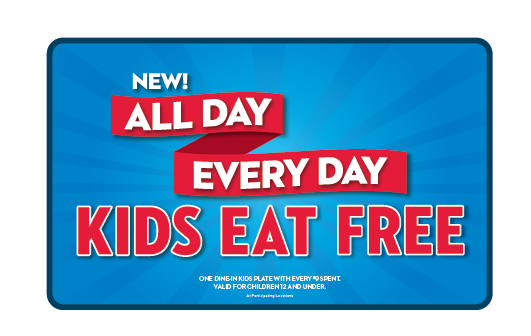 Steak n shake kids eat free 2017