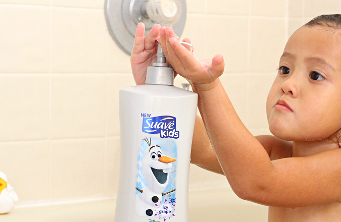 Suave kids Disney frozen Olaf body wash review