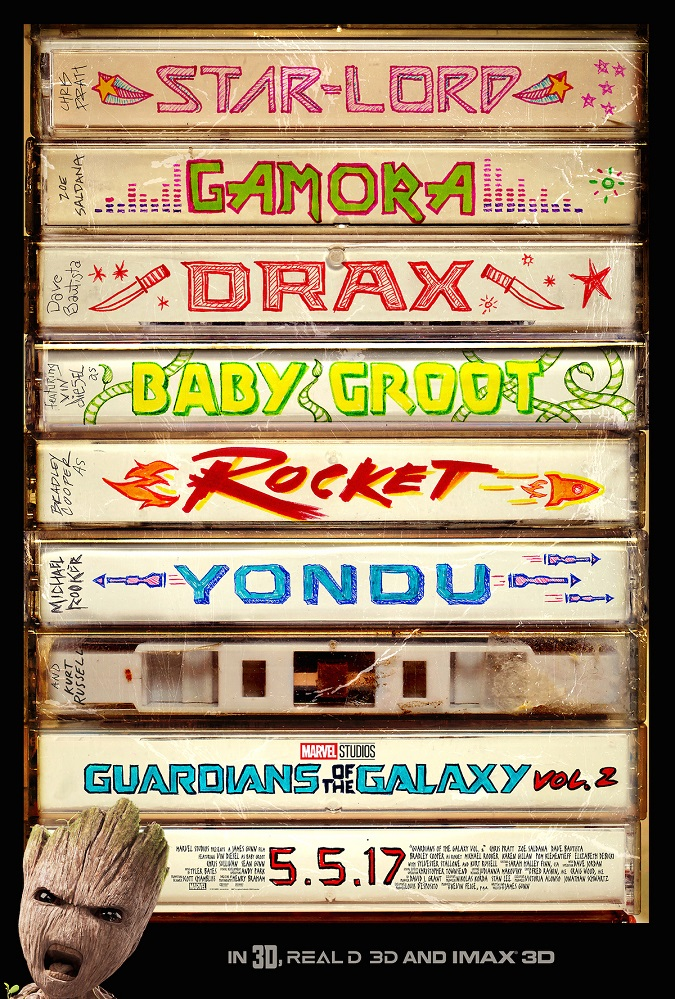Teaser Guardians of the galaxy vol 2 poster