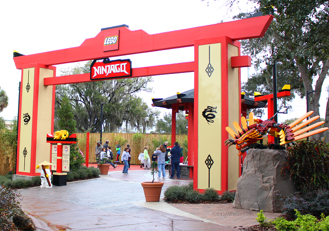 Tips for exploring Ninjago world at Legoland Florida