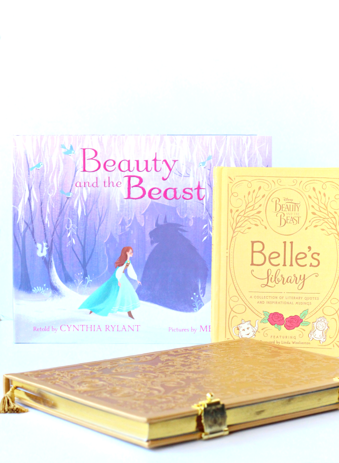 Beauty and the beast books for girls
