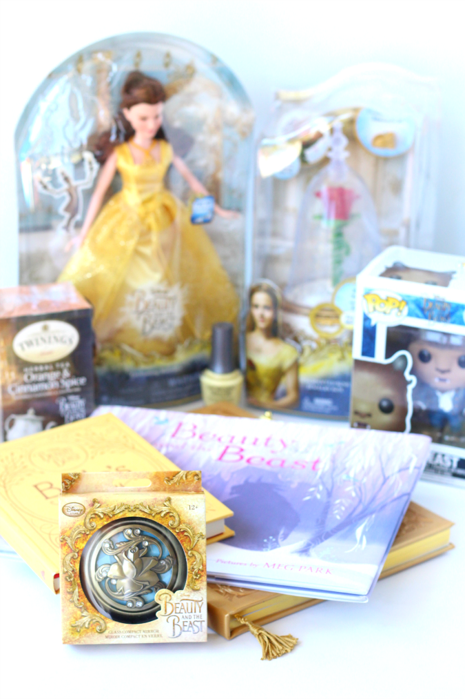 Beauty and the beast gift ideas live action