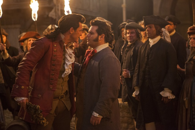 Beauty and the beast interview Luke Evans Josh Gad