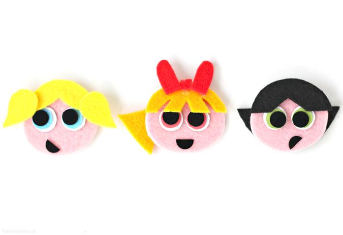 Craft powerpuff girls