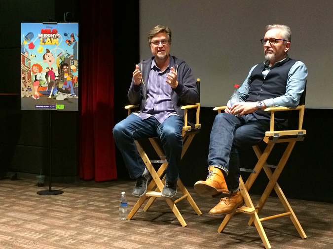 Dan Povenmire Jeff Marsh Milo Murphy's law interview