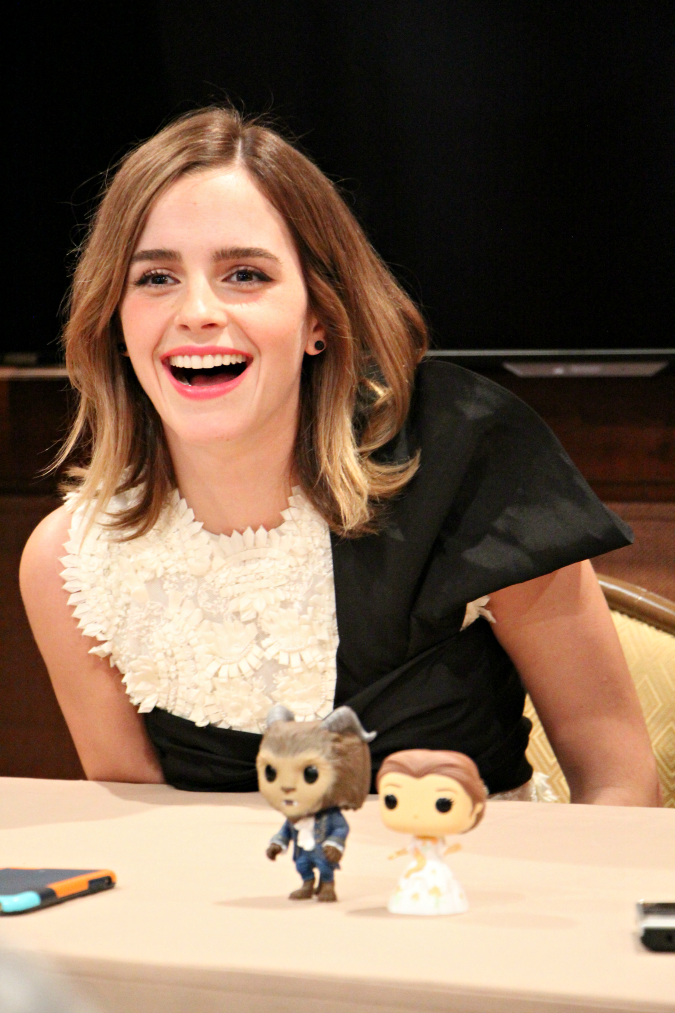 Emma Watson beauty an the beast exclusive interview