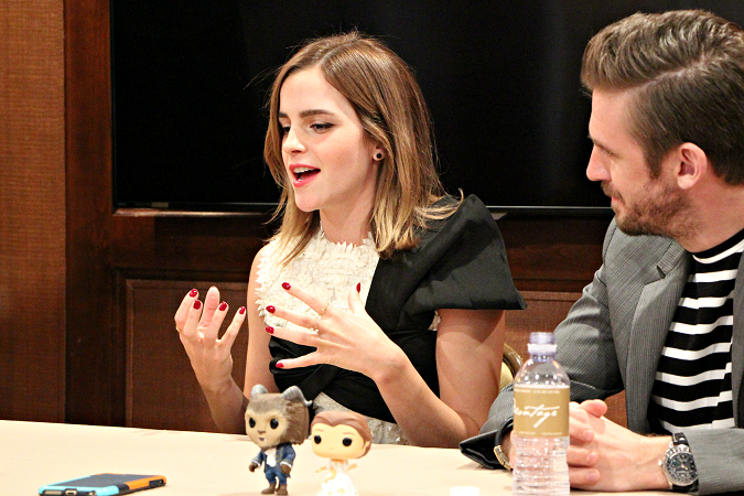 Emma watson interview beauty and the beast