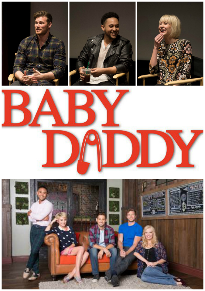 Freeform baby daddy interview