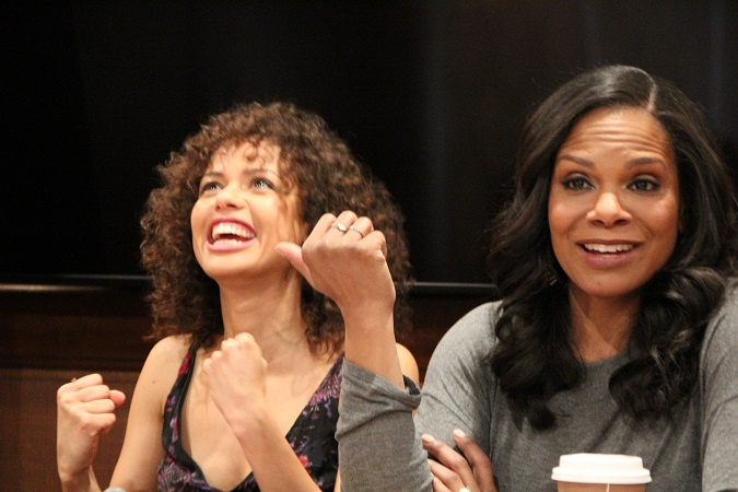 Gugu Mbatha Raw Audra McDonald Interview