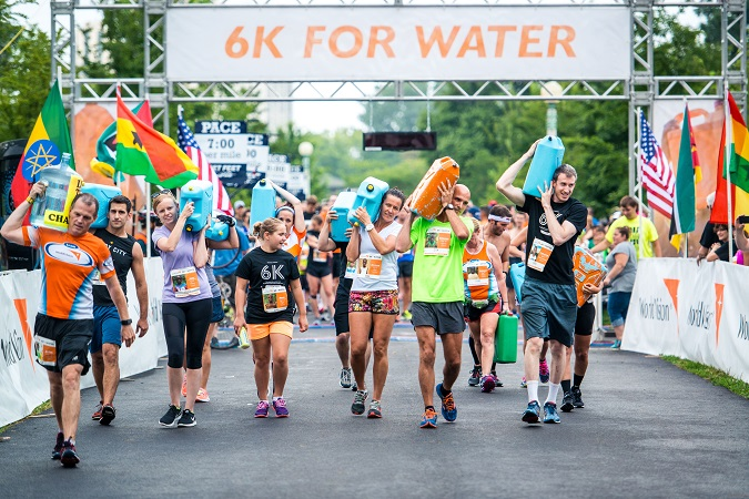 How to join world vision 6k for water