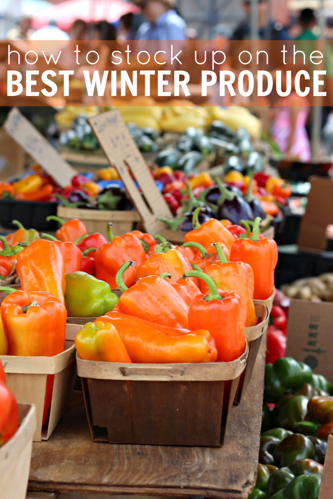 How to stock up on best winter produce