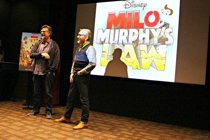 Jeff Marsh Dan Povenmire Milo Murphy's law interview