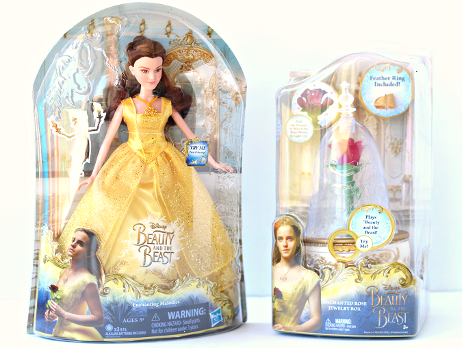 Live action beauty and the beast toys