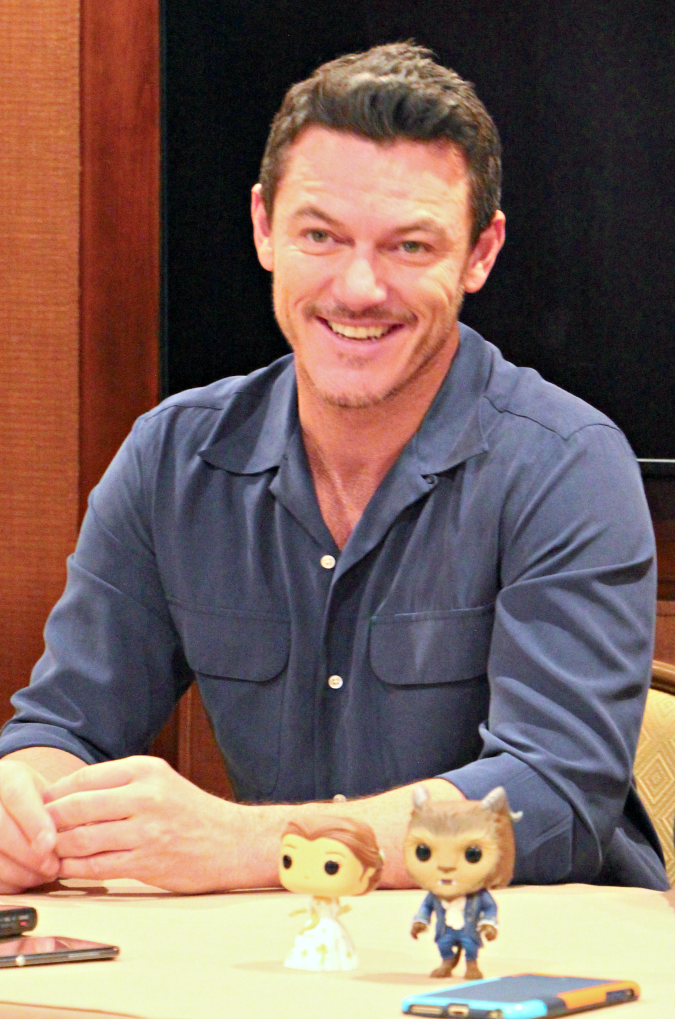 Luke Evans interview beauty and the beast