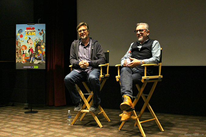 Milo Muprhy's law interview Dan Povenmire Jeff Marsh