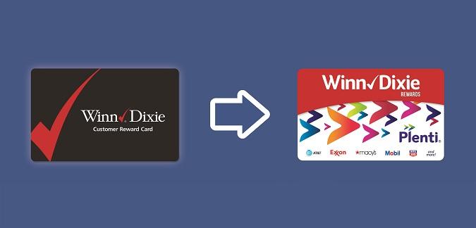 New Winn-Dixie rewards program Plenti