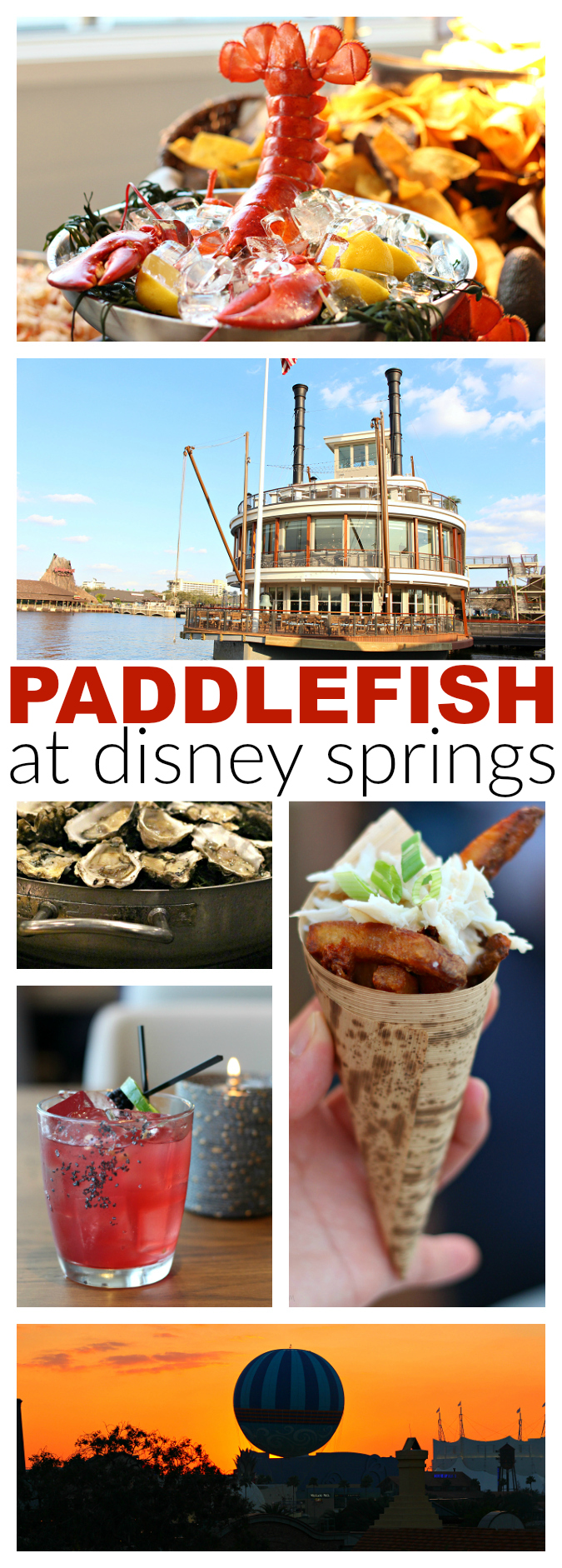 Paddlefish restaurant review at Disney springs