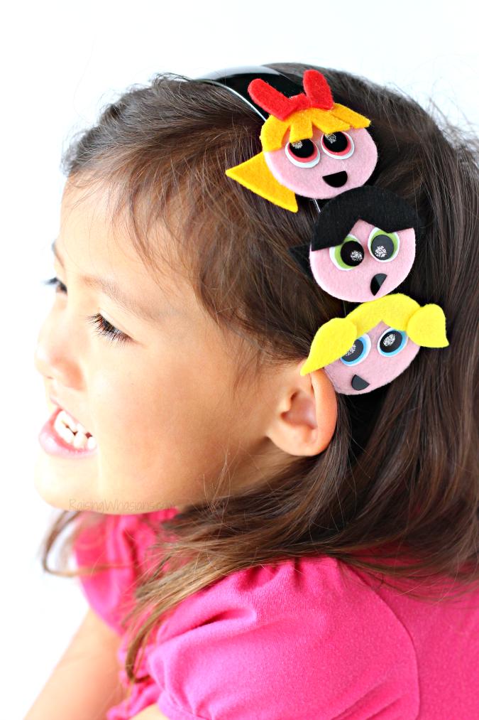 Powerpuff girls craft headband