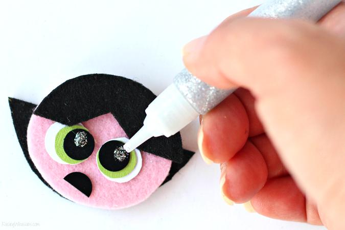 Powerpuff girls craft tutorial