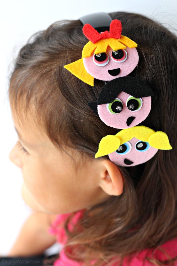 Powerpuff girls headband