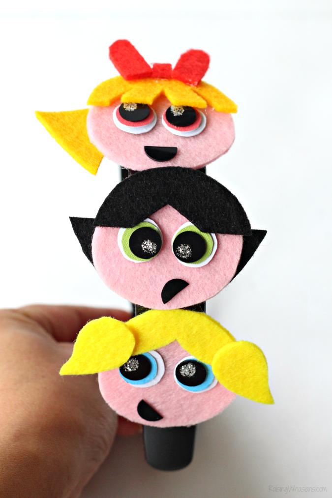 Powerpuff girls kids craft