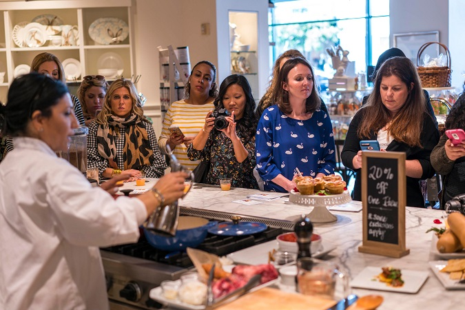 Williams Sonoma free cooking class