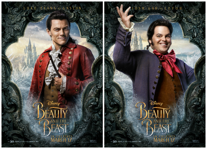 Beauty And The Beast Josh Gad Luke Evans Interview No One Makes Trouble Like Gaston Raising Whasians