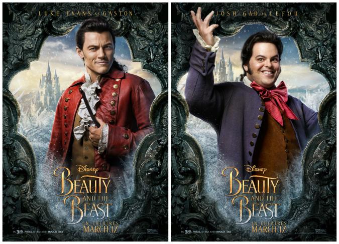 Gaston interview Luke Evans Josh Gad