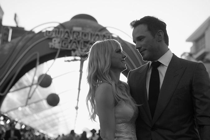 Chris Pratt Anna Faris Guardians 2 premiere LA