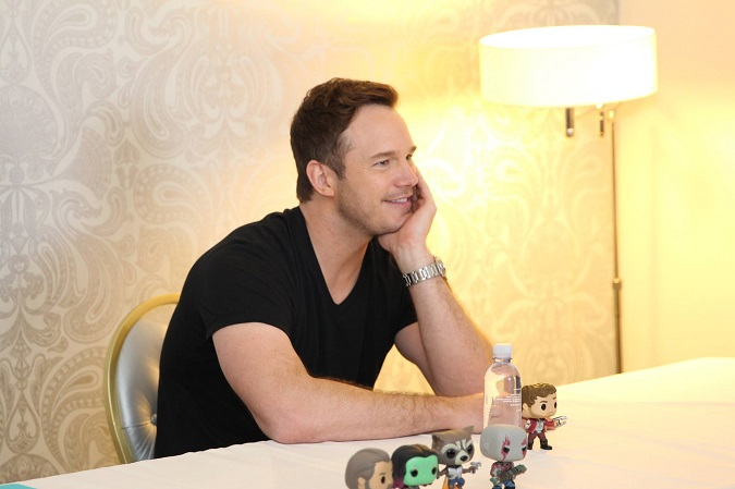 Chris Pratt guardians 2 exclusive interview