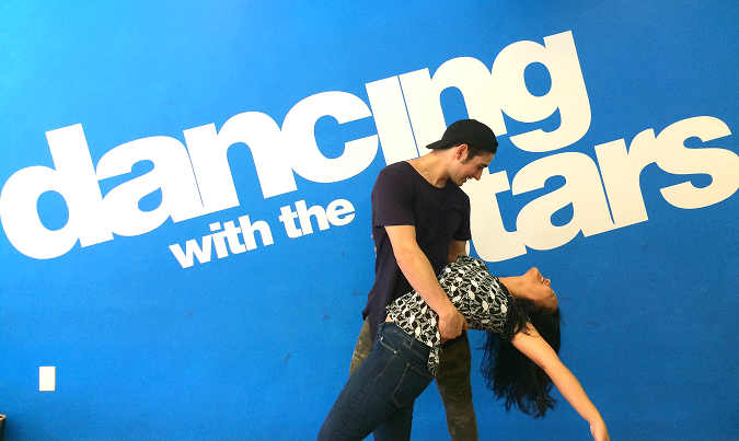 Dancing with the stars dance lesson