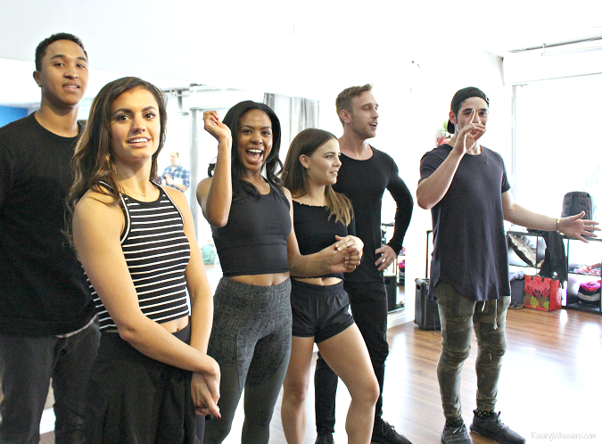 Dancing with the stars dance troupe interview