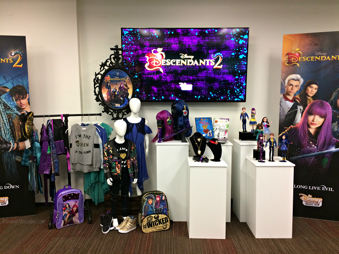 Descendants 2 merchandise