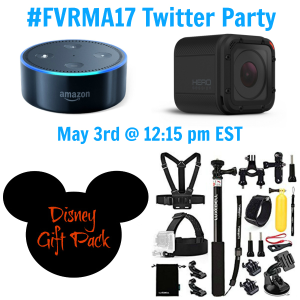 #FVRMA17 twitter party