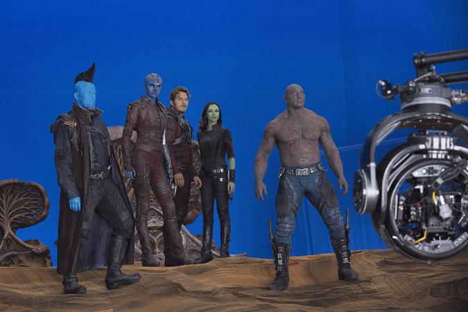 Guardians 2 movie set visit