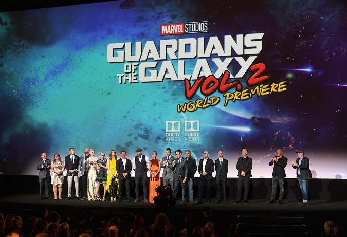 Guardians 2 world premiere LA