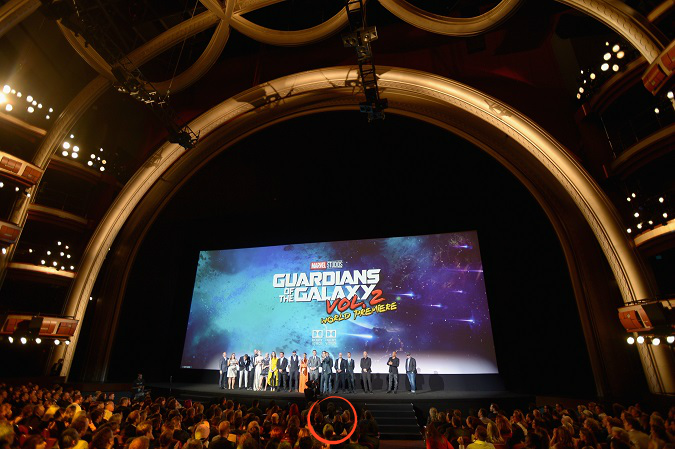 Guardians vol 2 premiere