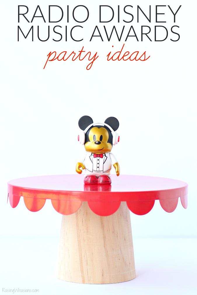 Radio Disney music award party ideas