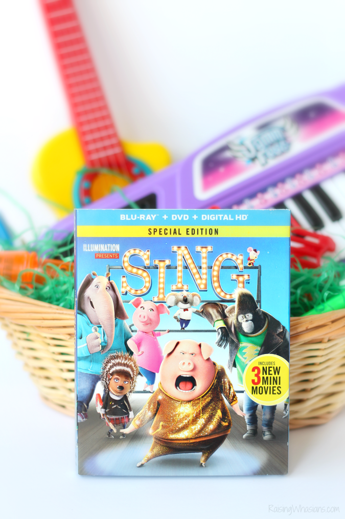 Sing blu-ray offer