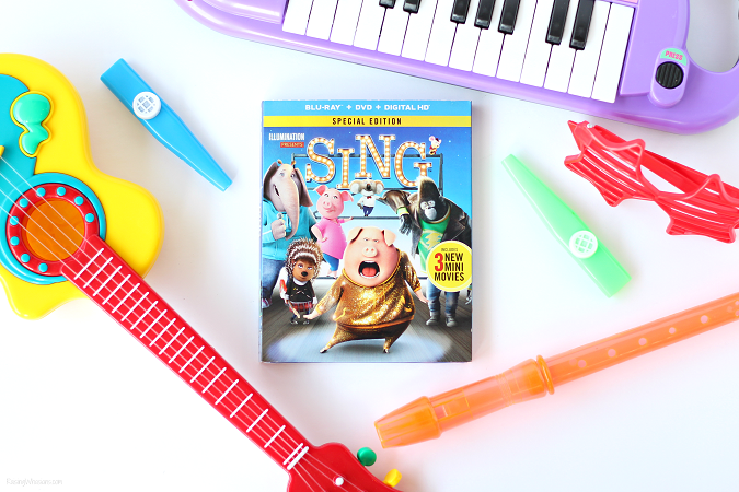 Sing movie easter basket ideas
