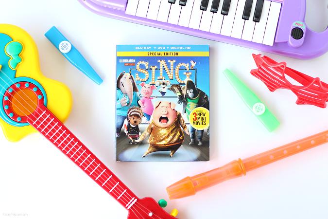Sing movie easter basket ideas