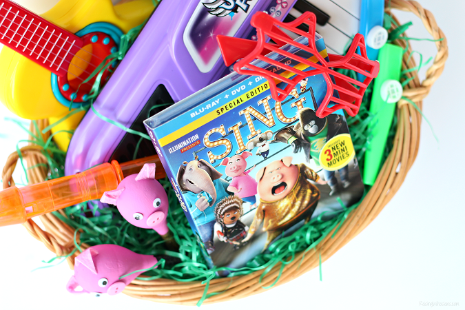 Sing movie easter basket