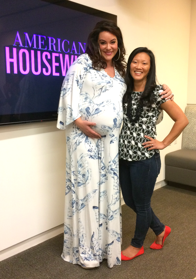 American housewife interview Katy Mixon