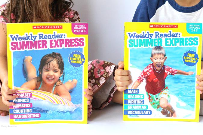 Award winning summer workbooks