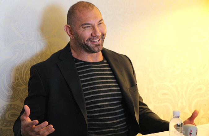 Dave Bautista Guardians Of The Galaxy 2