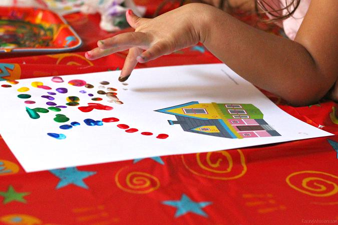 Disney up craft for preschoolers