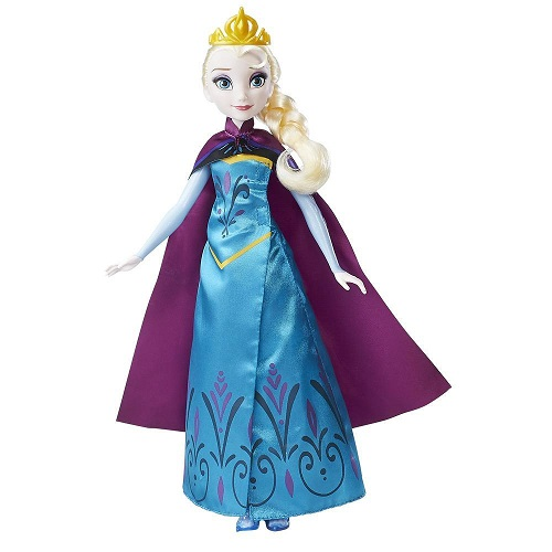 Disney frozen royal reveal Elsa doll