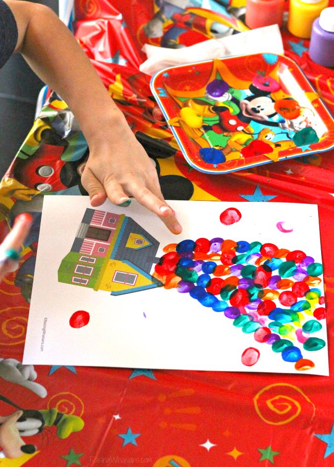 Disney Pixar up kids craft