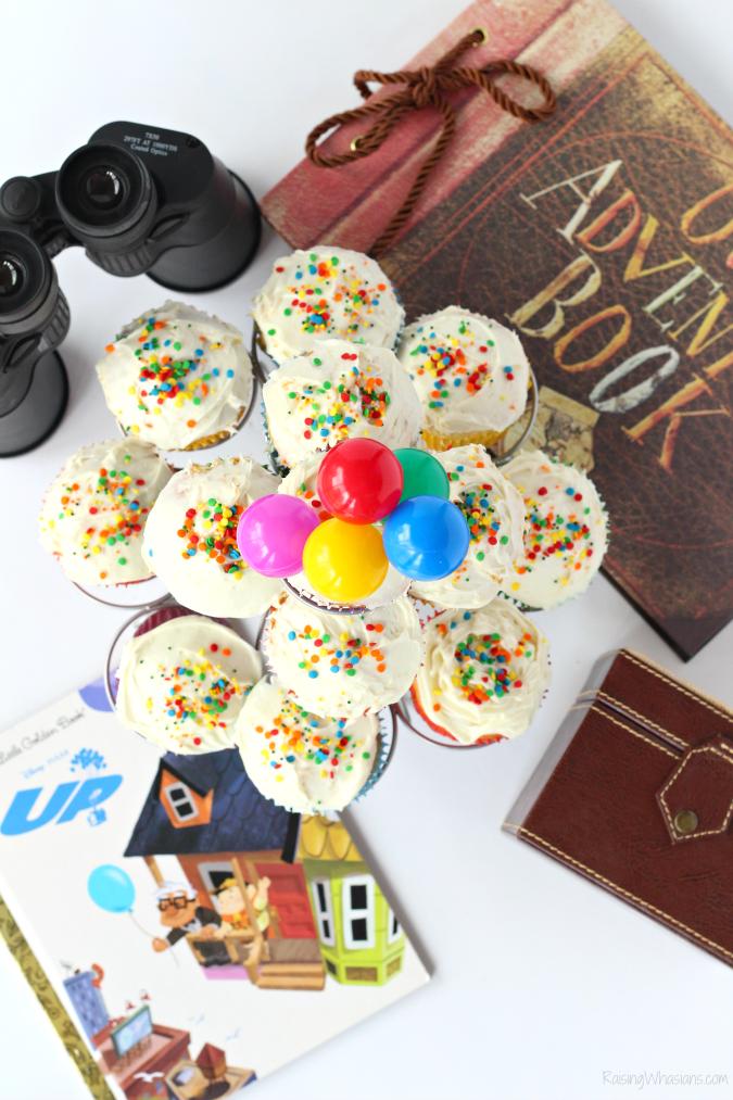 Disney up cupcakes